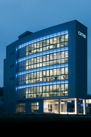 OMS Lighting main building in Slovakia